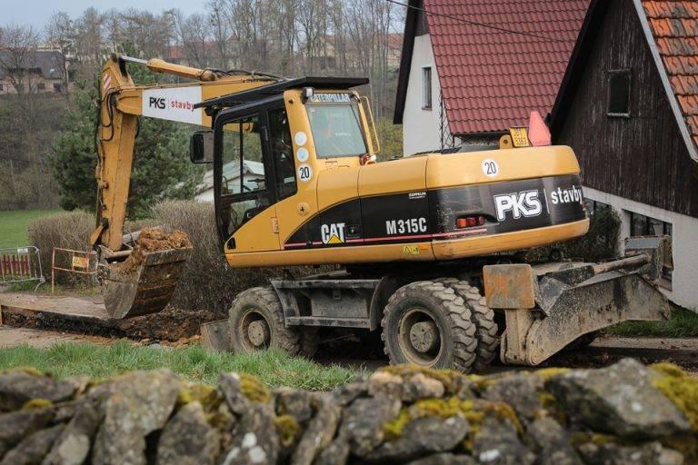 PKS stavby - zemní a výkopové práce - terénní úpravy
